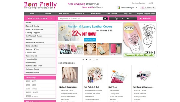Born Pretty Store Homepage