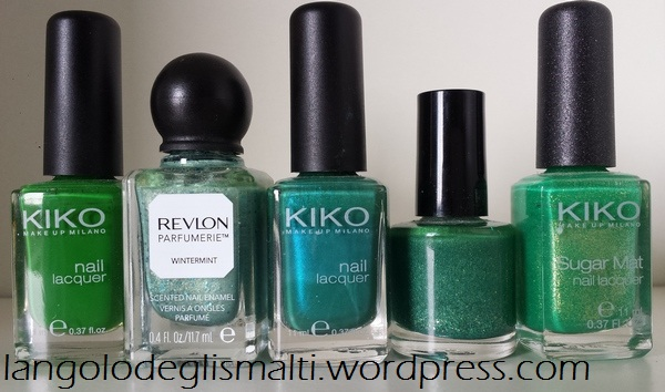The Ultimate Nail Polish Guide for Christmas! - Green Nail Polishes
