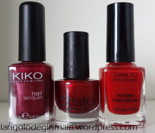 Nail Polish Guide for Christmas - Red Polishes