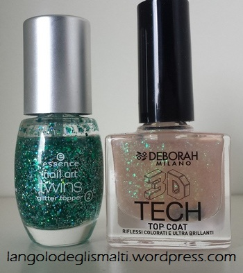 Nail Polish Guide for Christmas! - Glitter Top Coats