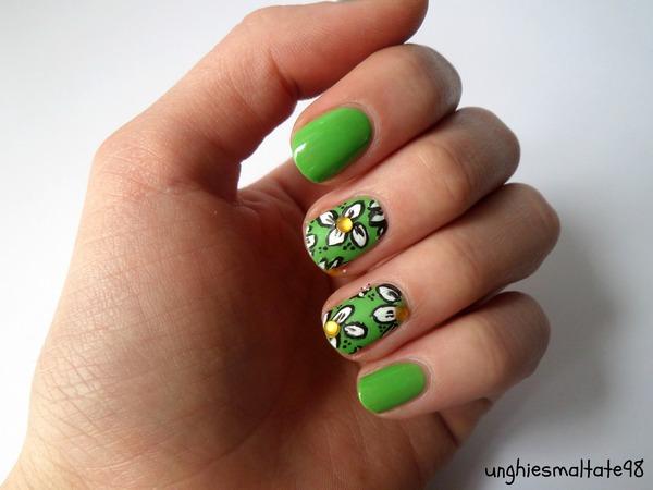 Spring Nail Art - Unghiesmaltate98