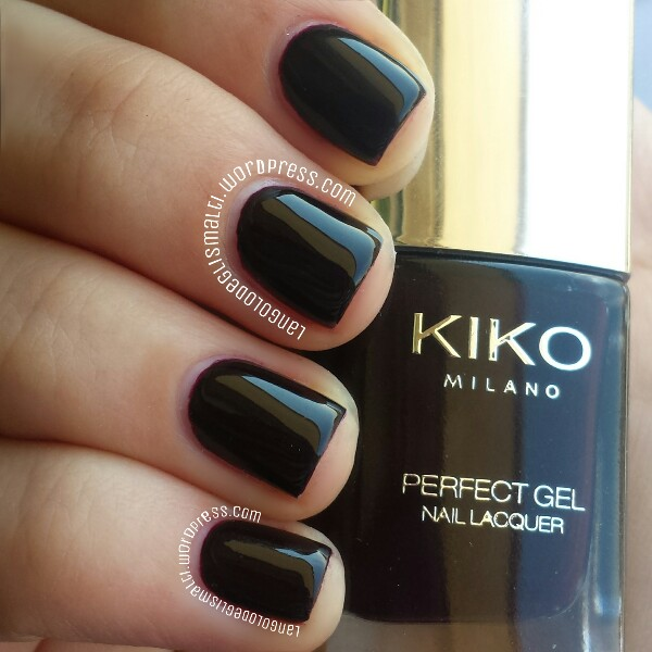Kiko - perfect gel duo - rouge noir