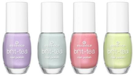 Essence - Brit-Tea TE - Nail Polish 01 02 03 04 - 2,29€