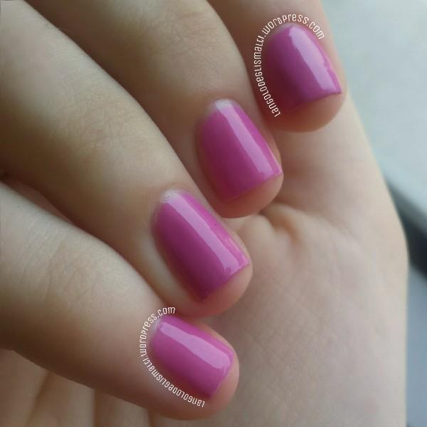Born Pretty Colour-change Polish 104 (cold temperature, purple)