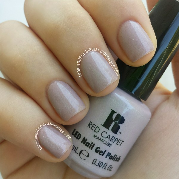 Red Carpet Manicure - LED Nail Gel Polish 751 - Caramel Moments