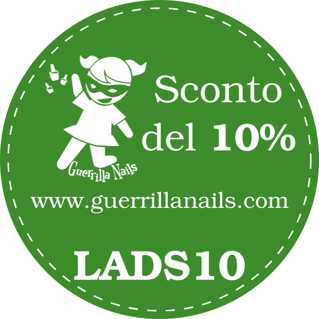 Guerrilla Nails 10% off: LADS10